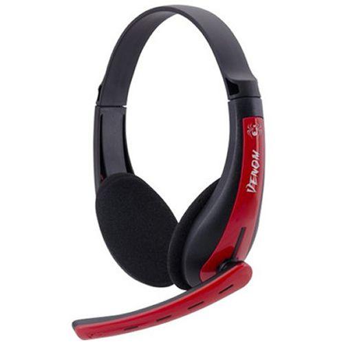 Headset Fortrek Gamer Spider Venom SHS701 Preto/Vermelho 54220