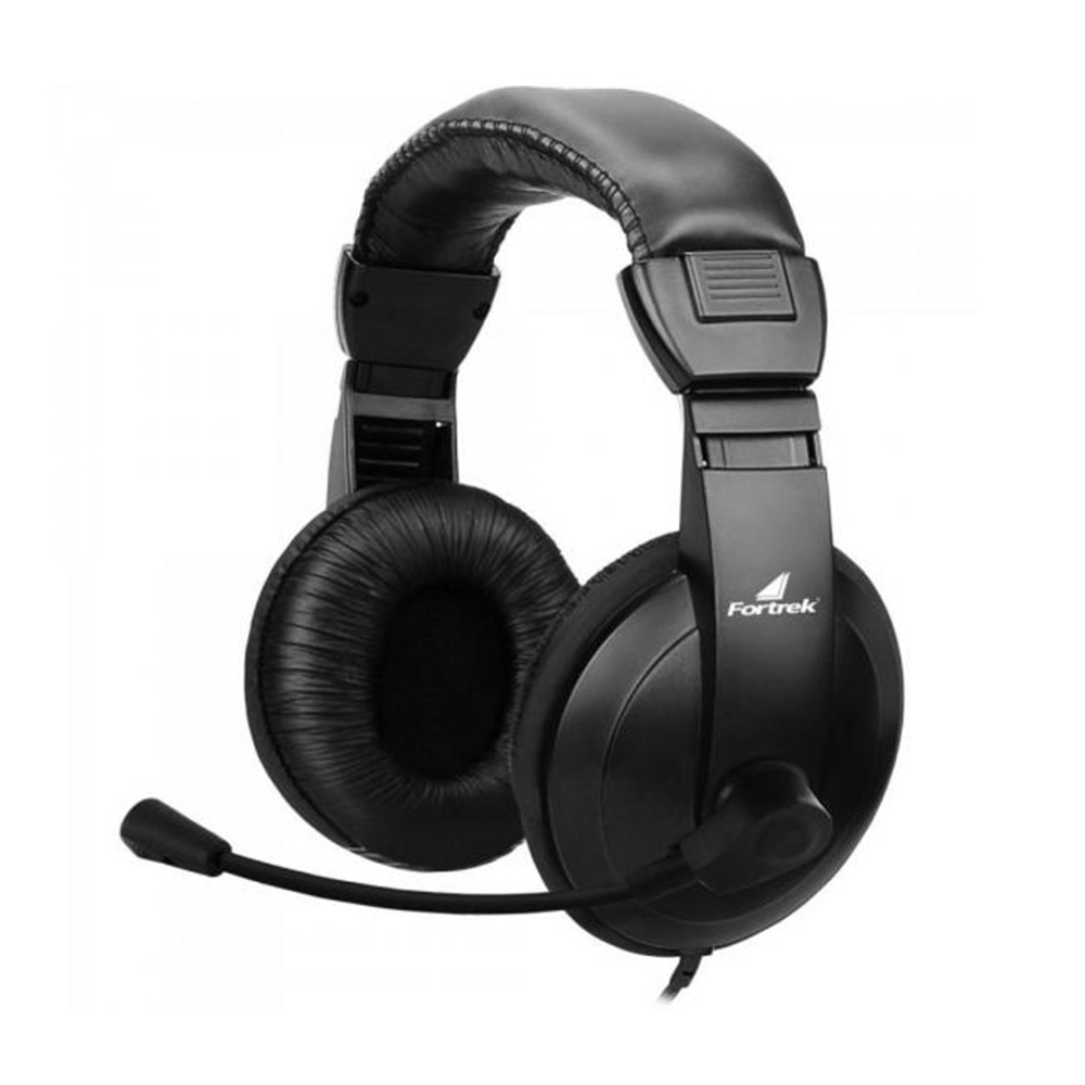 Headset Fortrek HSL-102, C/Microfone, P2 3.5mm, Preto