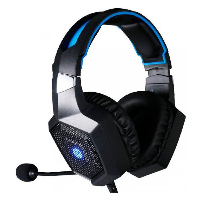 Headset Gamer HP H320 Stereo P2 3.5mm + USB Driver 50mm LED