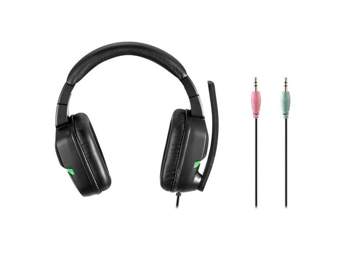 Headset Gamer Multilaser Warrior Askari, P2 3.5 mm, Xbox One, Verde - PH291