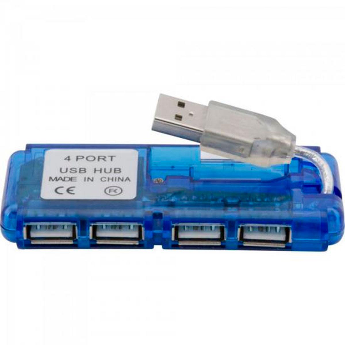 Hub Fortrek HBU402, 4 Portas USB 2.0 - 51923