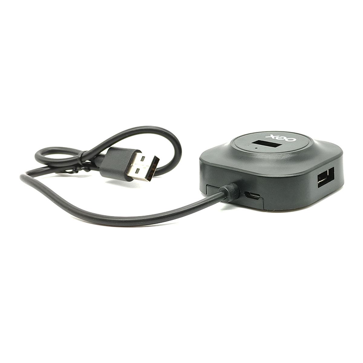 Hub USB 2.0 OEX HB101, 4 Portas