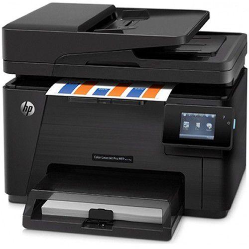 Impressora HP Multifuncional Color LaserJet Pro MFP M177fw CZ165A