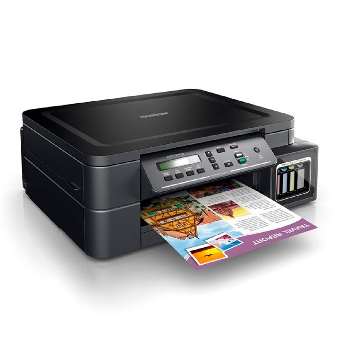 Impressora Multifuncional Brother DCP-T510W, Tanque de Tinta (Ink Tank), Colorida, Wi-Fi, USB 2.0