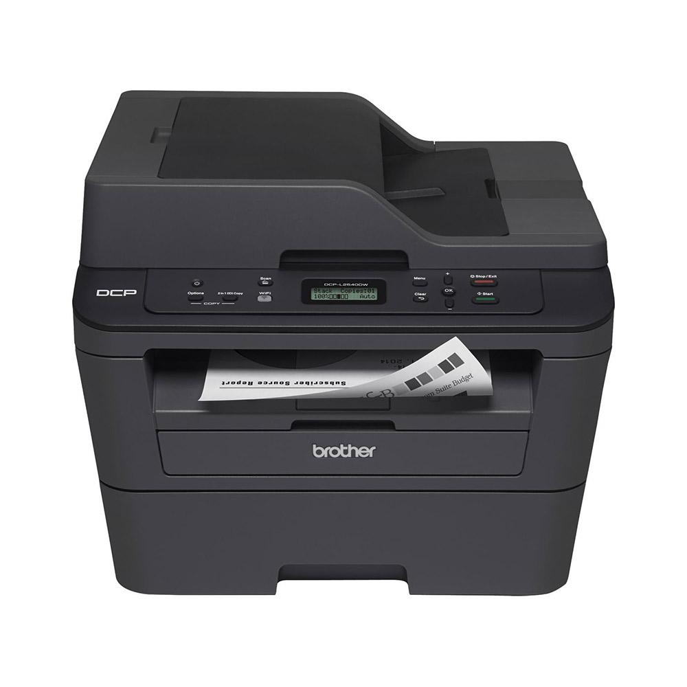 Impressora Multifuncional Brother Laser Mono DCP-L2540DW Duplex -  Wi-Fi (Frente e Verso)