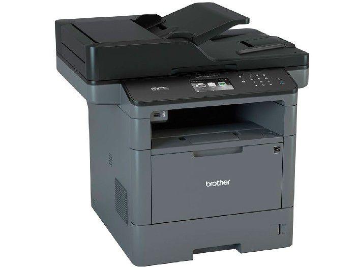 Impressora Multifuncional Brother Laser Mono MFC-L5902DW Duplex/Rede/Wifi