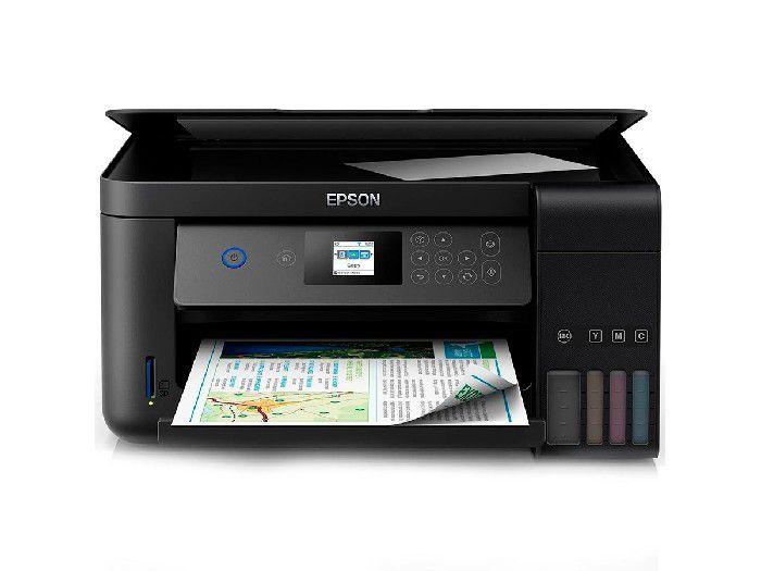 Impressora Multifuncional Epson Eco Tank Color Wifi L4160 Duplex