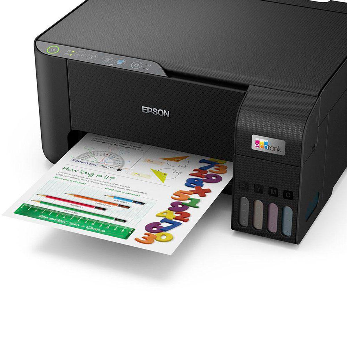 Impressora Multifuncional Epson EcoTank L3250, Colorida, Wi-Fi, USB 2.0, Bivolt - C11CJ67303