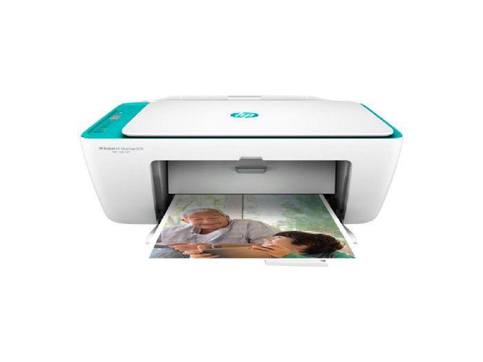 Impressora Multifuncional HP Deskjet Ink 2676 Color Wifi - Y5Z00A