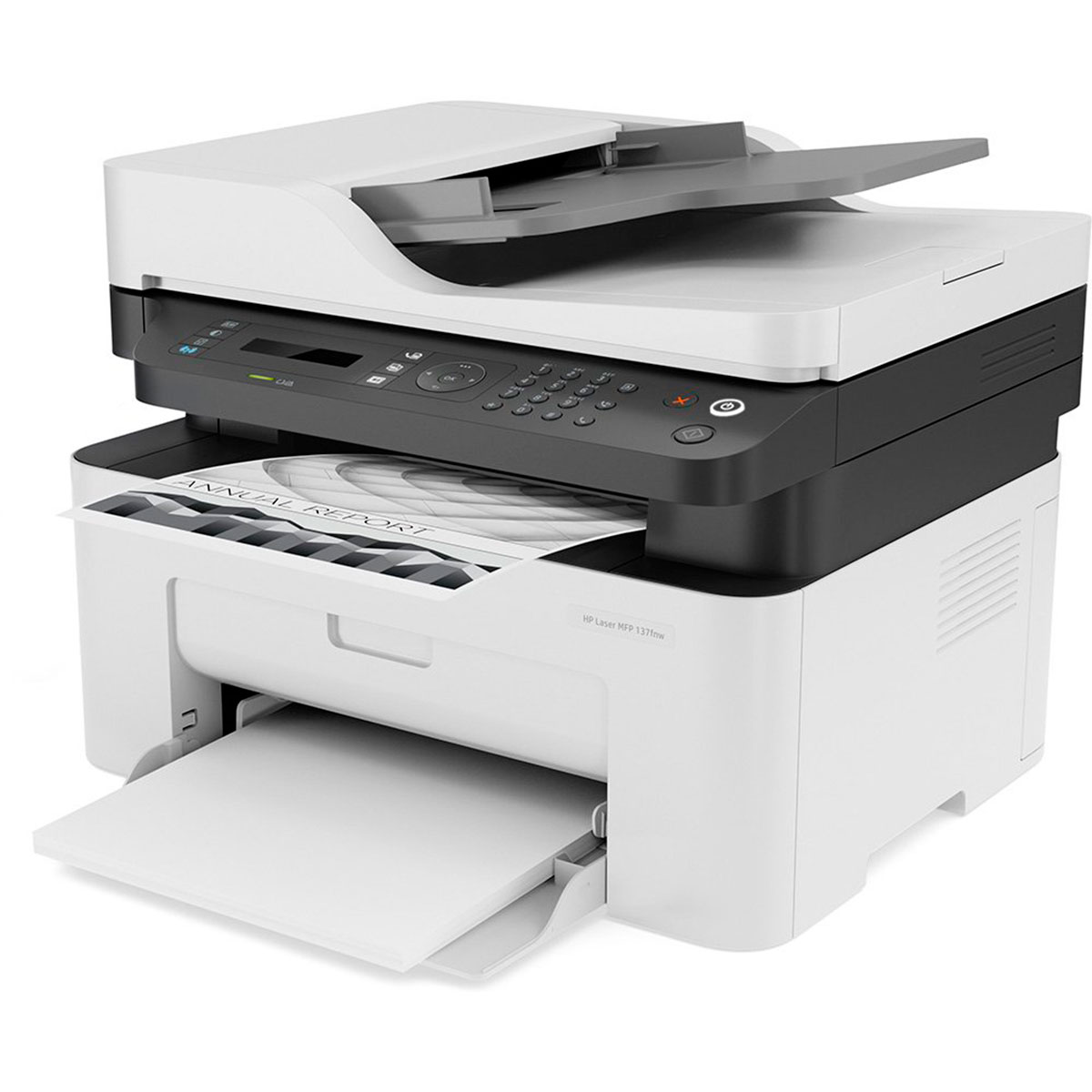 Impressora Multifuncional HP MFP 137FNW, Laser, Monovolt - 4ZB84A#AC4 - 110V