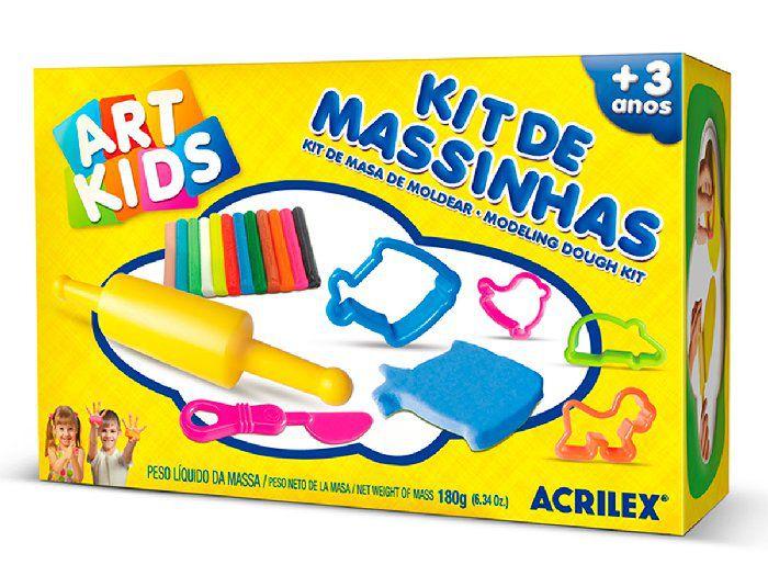 Kit de Massinhas 2, 180g - Acrilex