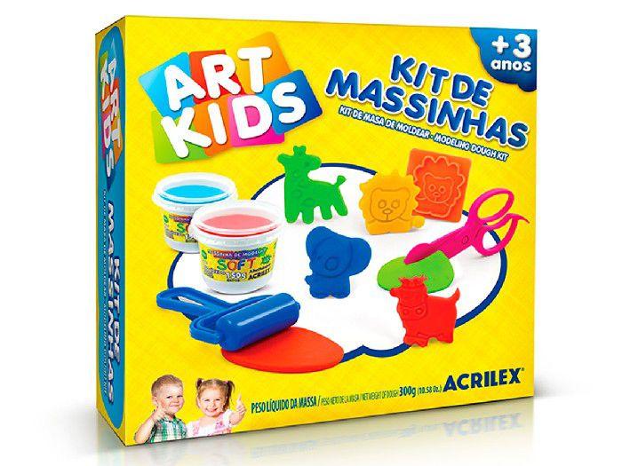 Kit de Massinhas 7, 300g - Acrilex