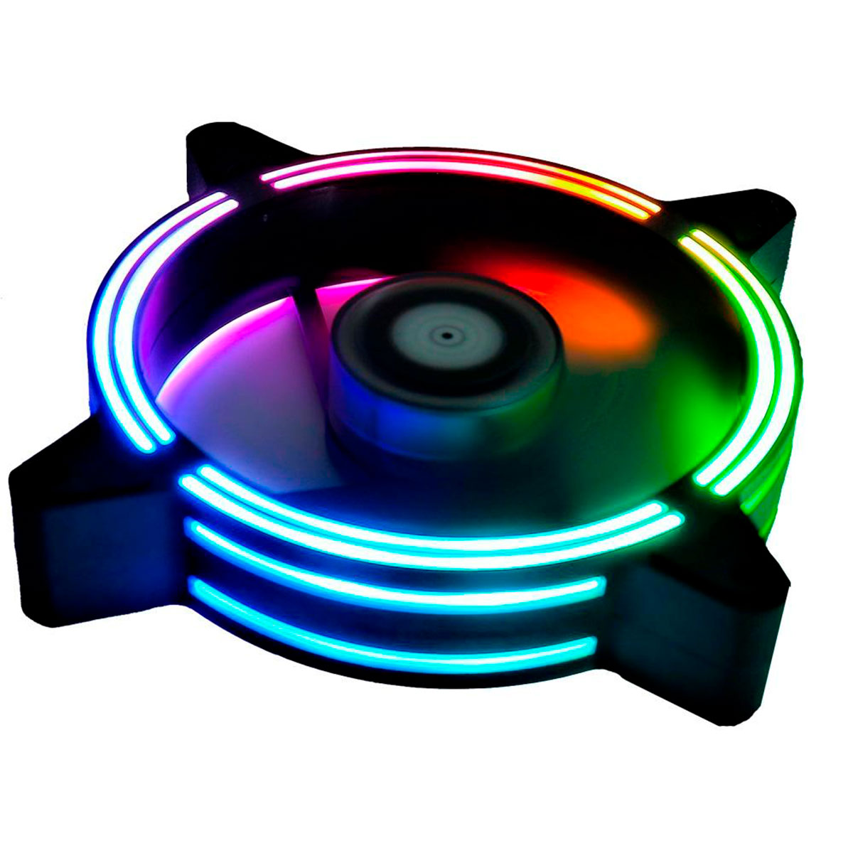 Kit Fan Rise Mode Tornado RGB Energy 3 Fans 120mm RM-TO-02-RGB