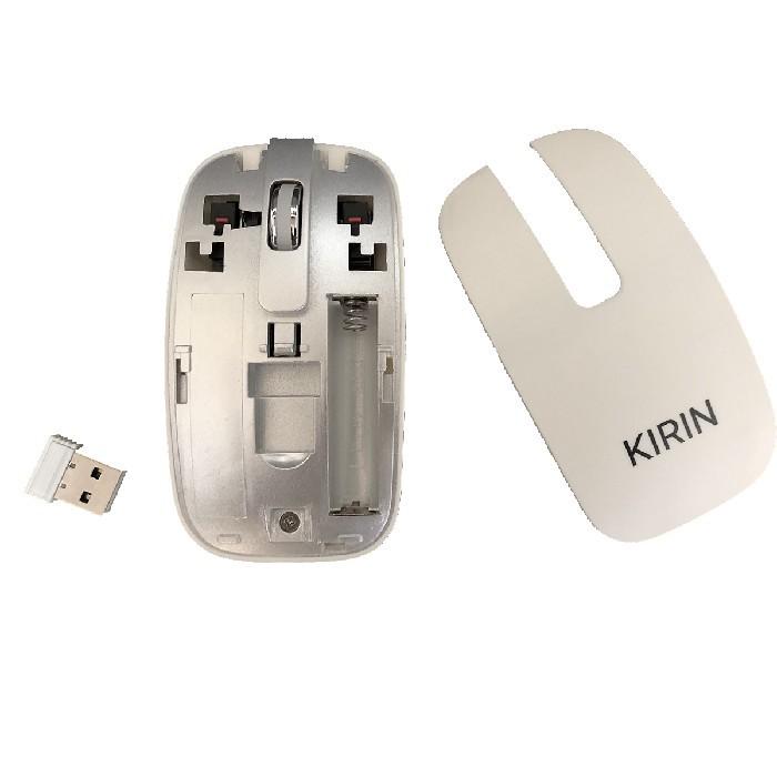 Kit Teclado e Mouse GV K-06 MP.106 Wireless Branco - ABNT2