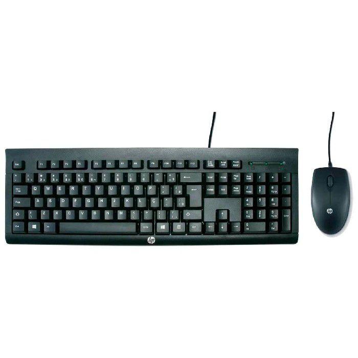 Kit Teclado e Mouse HP C2500 USB