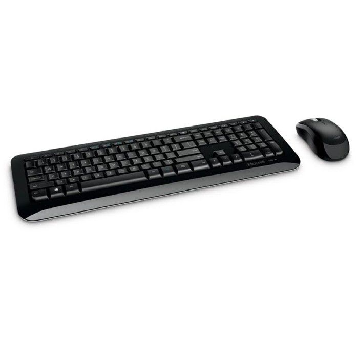 Kit Teclado e Mouse Microsoft Wireless 850 Preto - Py9-00021