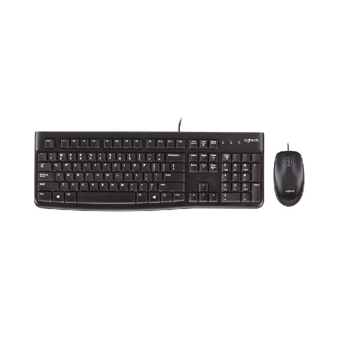 Kit Teclado e Mouse USB Logitech MK-120