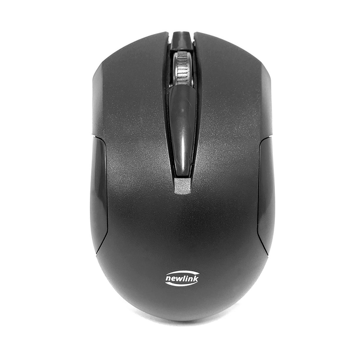 Kit Teclado e Mouse Wireless Newlink Advanced CK102, USB, ABNT2