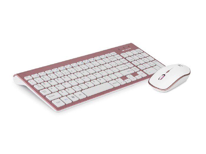 Kit Teclado+Mouse C3tech Wireless K-510PWH