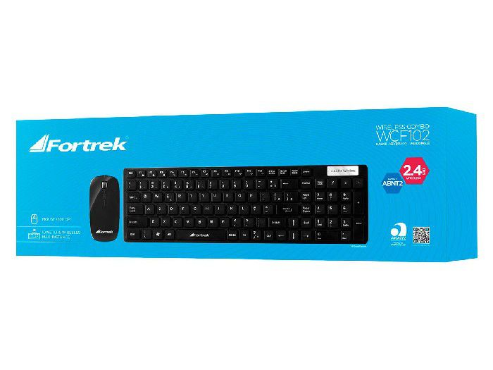Kit Teclado+mouse Fortrek Wireless Wcf102