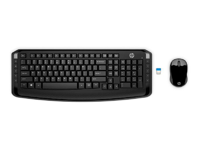 Kit Teclado+Mouse HP Wireless 300 3ML04AA#AC4
