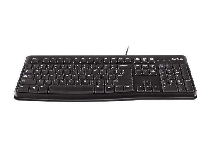 Kit Teclado+Mouse Logitech USB MK-120 Pto