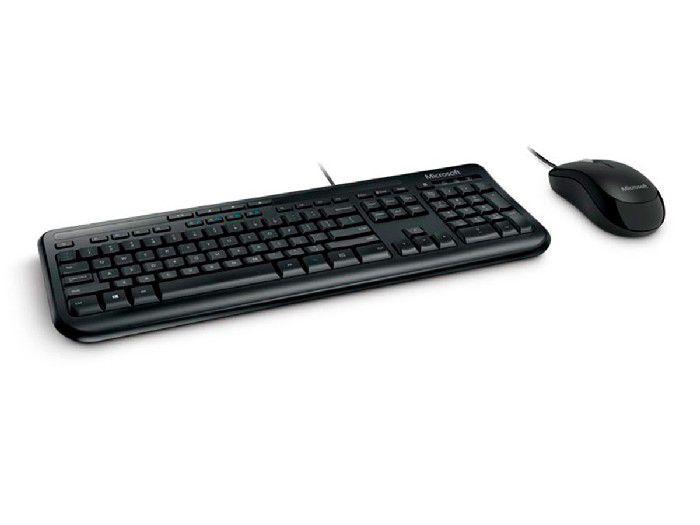 Kit Teclado + Mouse Microsoft Wired 600 USB APB-00005