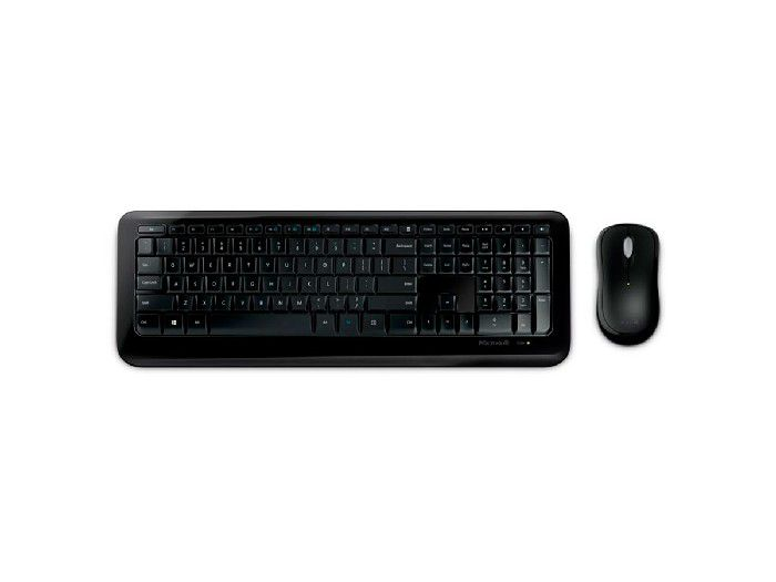 Kit Teclado+Mouse Microsoft Wireless 850 Preto - PY9-00021