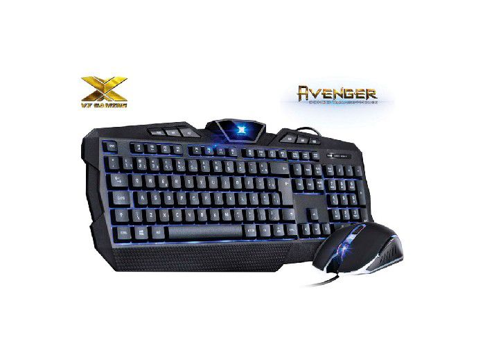Kit Teclado+mouse Usb Vx Gaming Avenger Vinik 25978