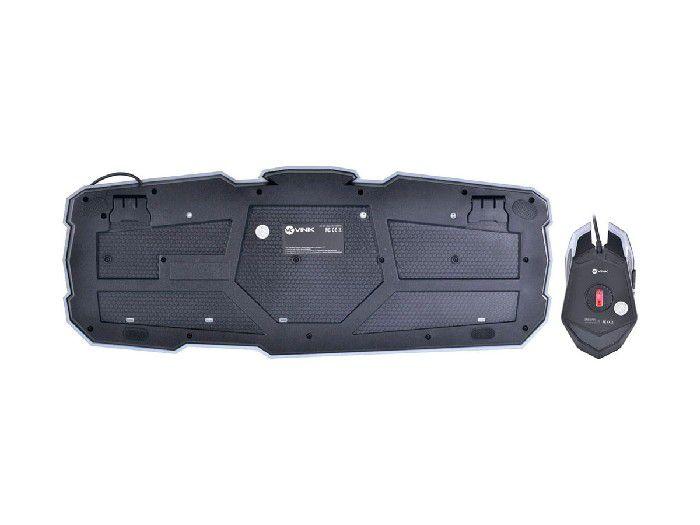 Kit Teclado+mouse Usb Vx Gaming Avenger Vinik 25978
