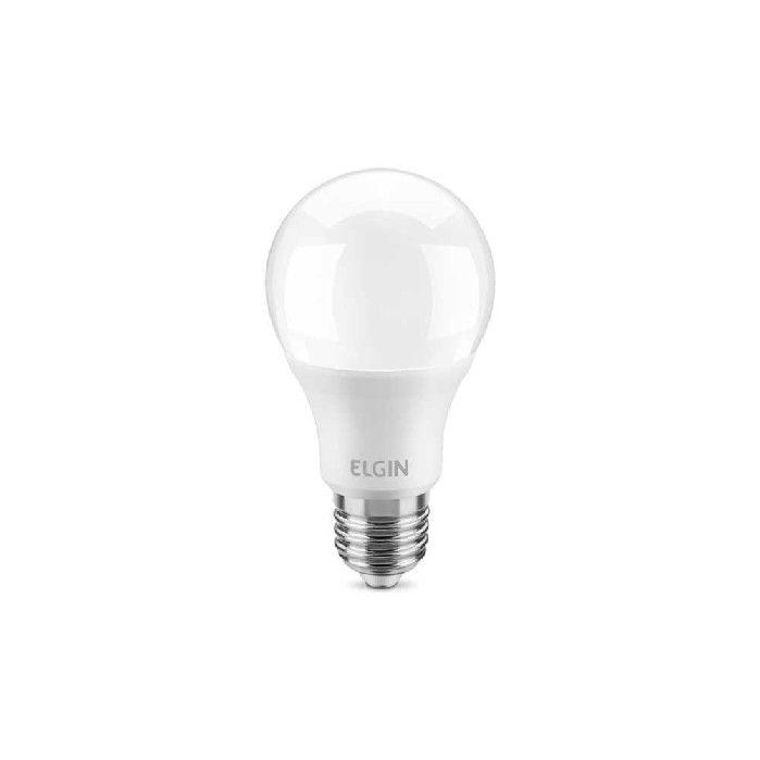 Lampada Led Bulbo Elgin E27 A55 6w Bivolt 6500k Branca