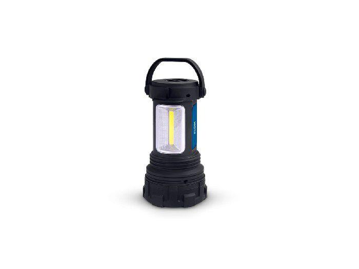 Lanterna LED Lampião, 3 Estágios, Emborrachada Com Empunhadura Articulada, Elgin - 48LEDLAN3A00