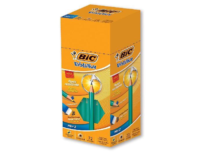 Lápis Bic Evolution Hexagonal, Com Borracha, Contém 72 Unidade, Bic - 840642