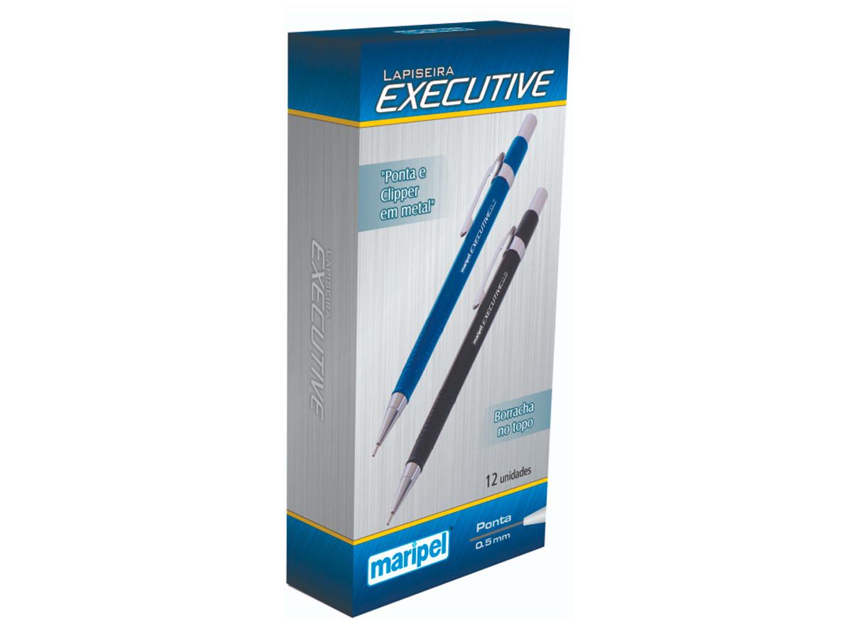 Lapiseira Executive 0.5 Azul, Caixa C/12 Unidades - Maripel