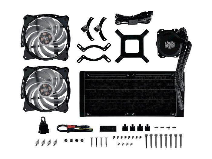 Liquid Cooler Cooler Master ML240L RGB MLW-D24M-A20PC-R1