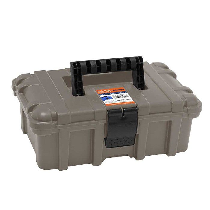 MALETA RETANGULAR PARAMOUNT CINZA P 30 X 19 X 11 CM - 516