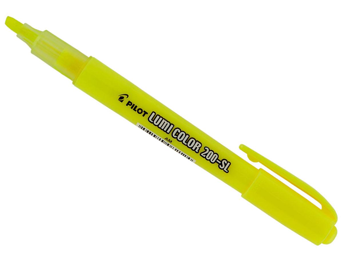 Marcador de Texto Lumi Color Amarelo Caixa Com 12 Unidades Pilot - 1440002AM