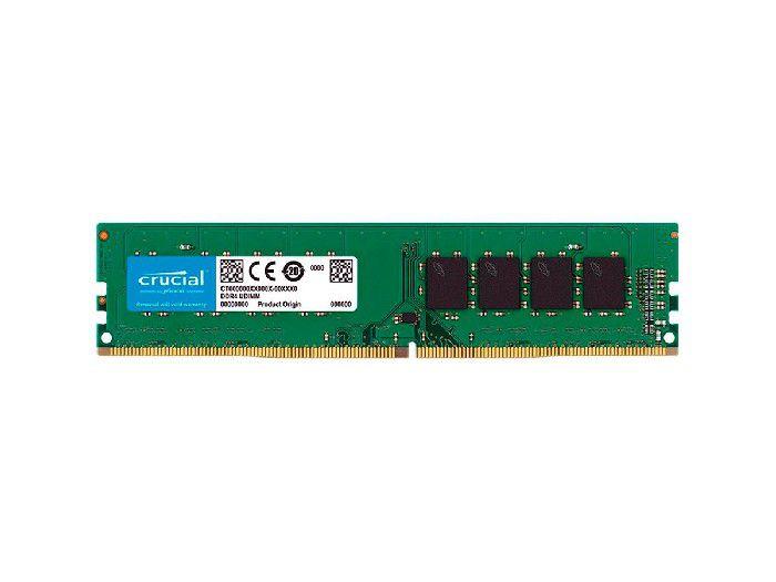 Memória 4GB DDR4 2666MHz Crucial