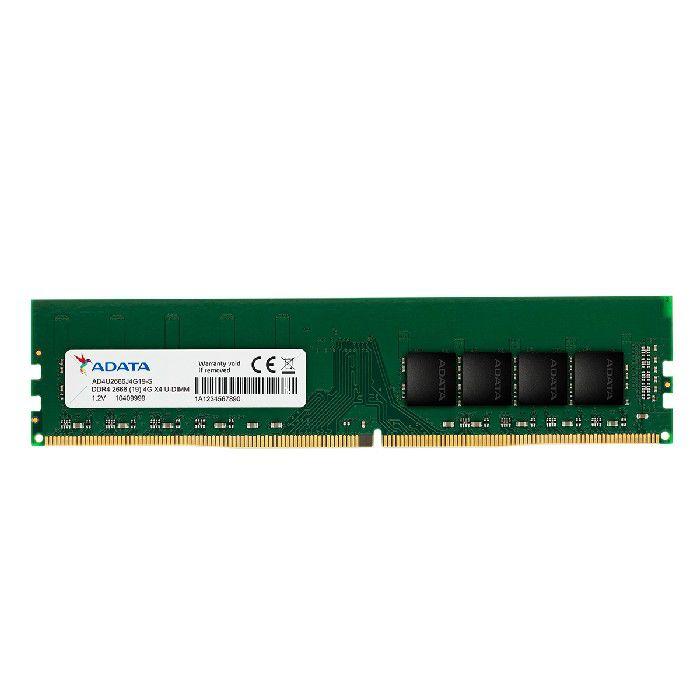 Memória 4GB DDR4 2666MHz U-DIMM ADATA AD4U2666J4G19-S