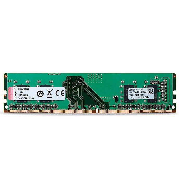 Memoria 4gb DDR4 Kingston 2400MHZ KVR24N17S6/4
