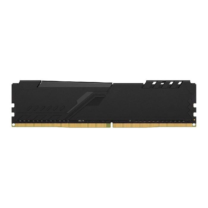 Memória 4GB Kingston Hyperx Fury Black, DDR4, 2400MHz, CL15 - HX424C15FB3/4