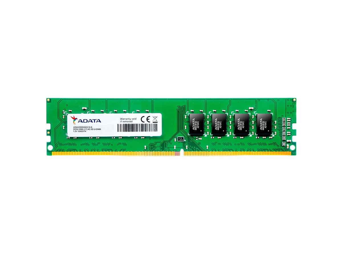 Memória 8GB DDR4 2666Mhz Adata AD4U266638G19-S