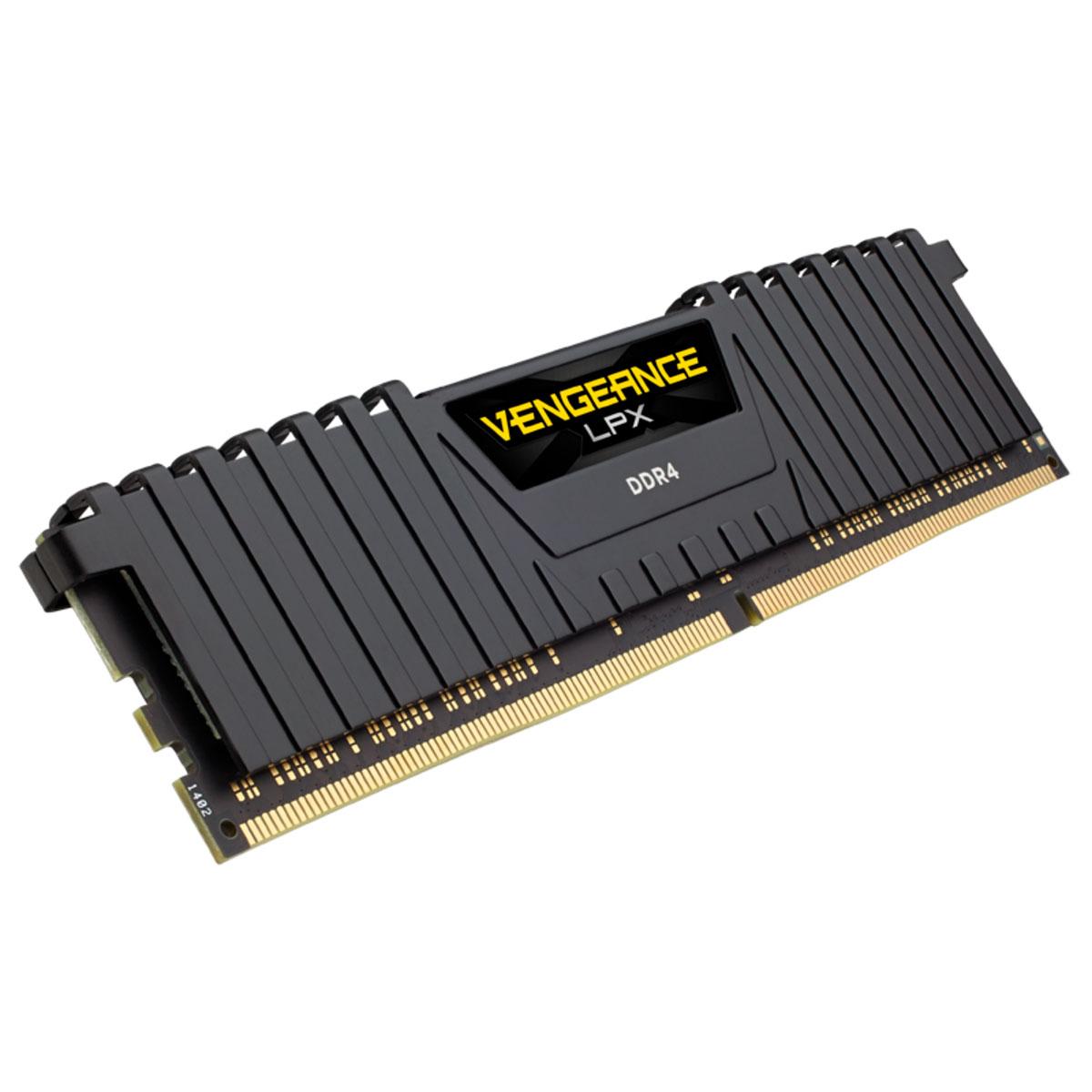 Memória Corsair Vengeance LPX 16GB DDR4 2400MHz CL16 CMK16GX4M1A2400C16