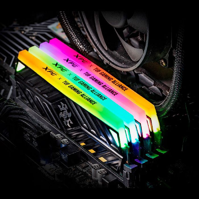 Memória Gamer 8GB Adata Xpg Spectrix D41 TUF DDR4 3000MHz AX4U300038G16-SB41