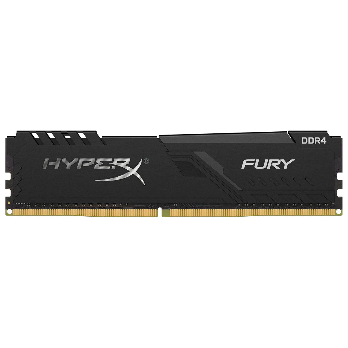 Memória Gamer Kingston HyperX Fury Black, 8GB, 2666MHz, DDR4, CL16 - HX426C16FB3/8