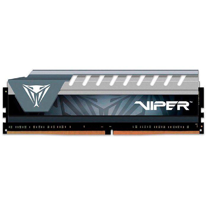 Memória Gamer Patriot Viper Elite 8GB DDR4 2400MHz CL16 PVE48G240C6GY