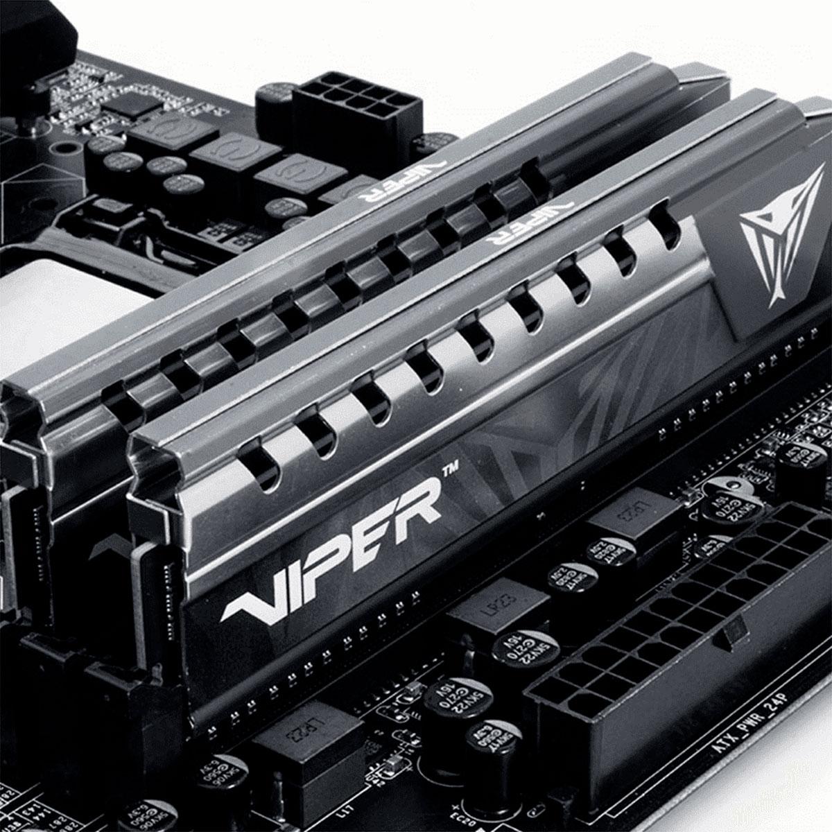 Memória Gamer Patriot Viper Elite 8GB DDR4 2666MHz CL16 PVE48G266C6GY