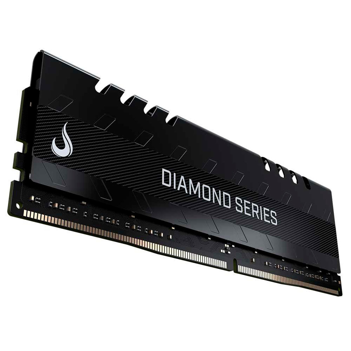 Memória Gamer Rise Mode Diamond 8GB, DDR4, 2400MHz, CL15, Preta - RM-D4-8G-2400D