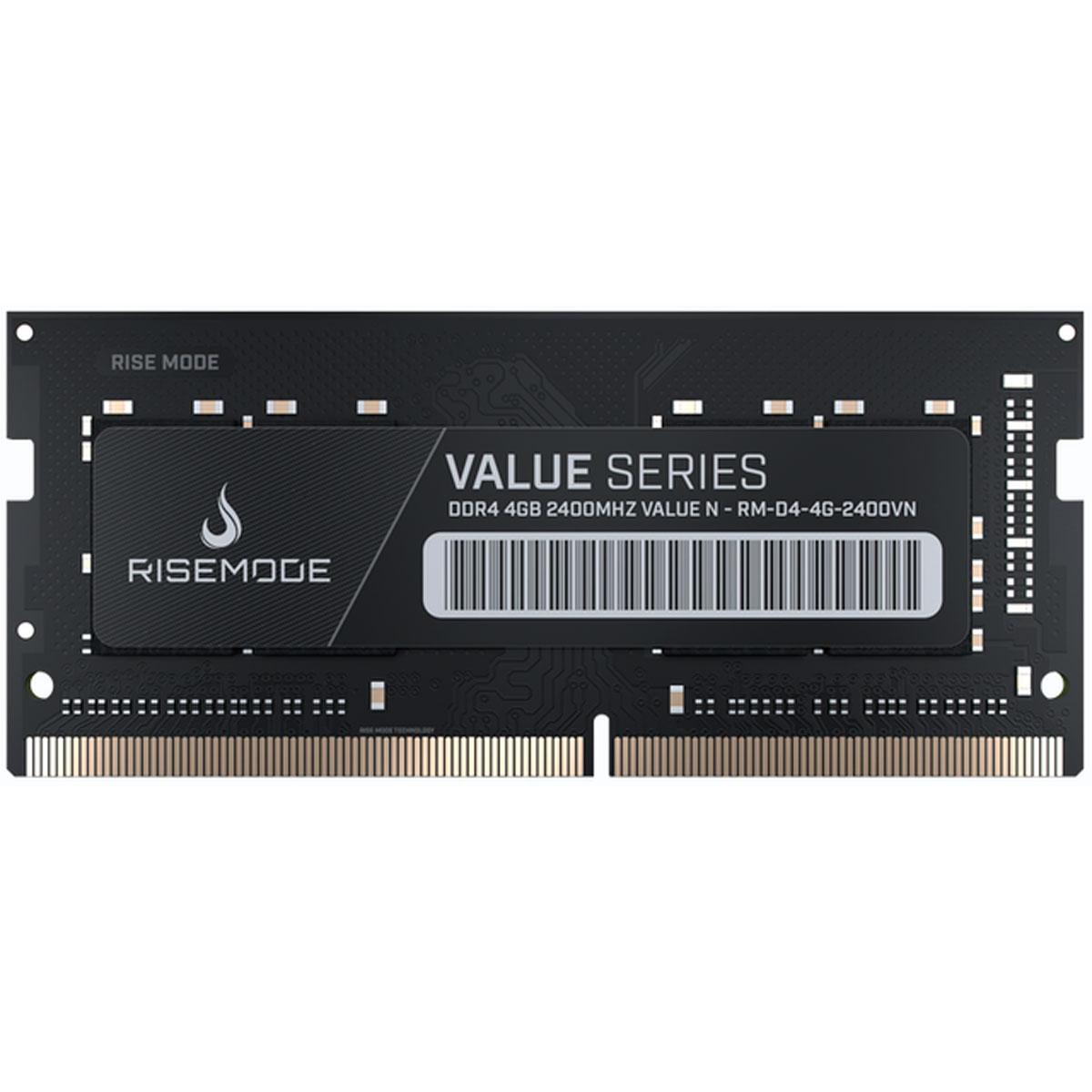 Memória P/notebook Rise Mode 4GB DDR4 2400VN RM-D4-4G2400VN