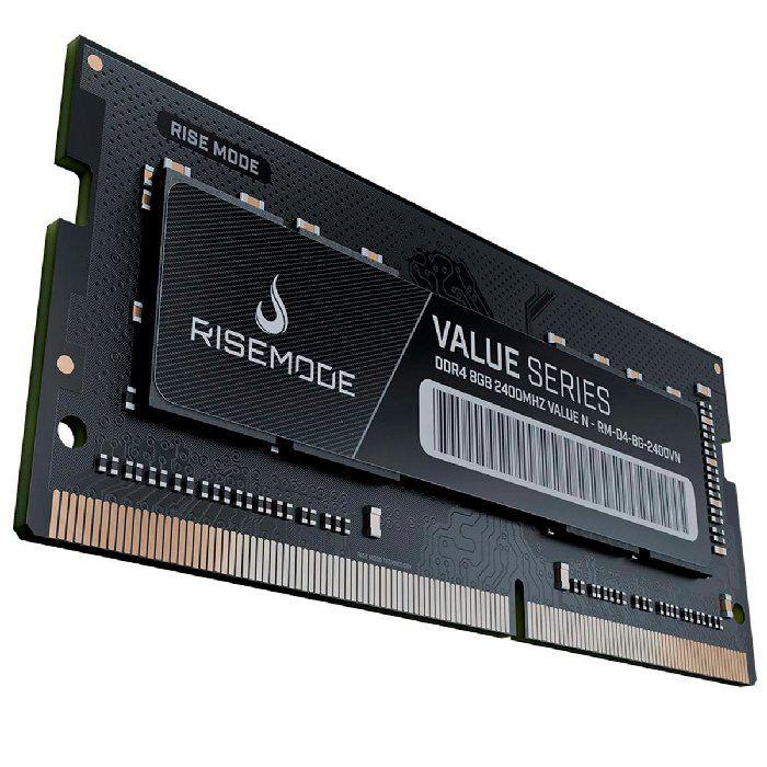 Memória P/notebook Rise Mode 8GB DDR4 2400MHZ RM-D4-8G2400VN